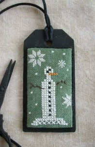The Primitive Jewel Closeout Tall Snowman Necklace Kit