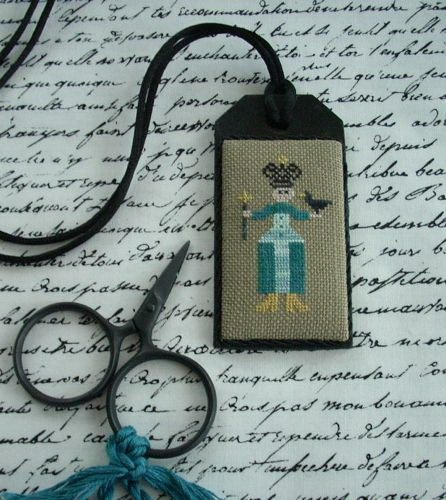 The Primitive Jewel Closeout The Aqua Queen Necklace Kit