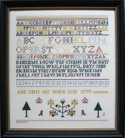 Queenstown Sampler Designs Ann Carter 1779