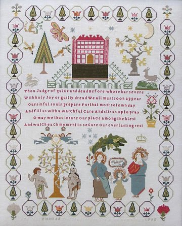 Queenstown Sampler Designs Ann Till 1795