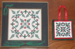 Queenstown Sampler Designs Christmas 2010