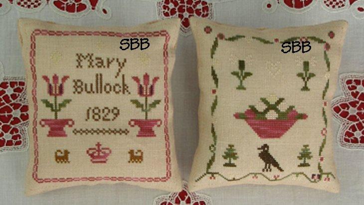 Queenstown Sampler Designs Pyn Keep Mary Bullock 1829