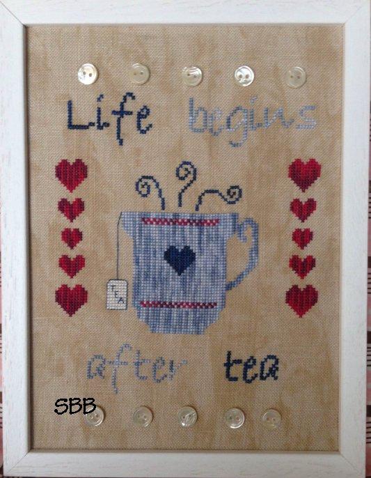 Romys Creations Designs I Love Tea