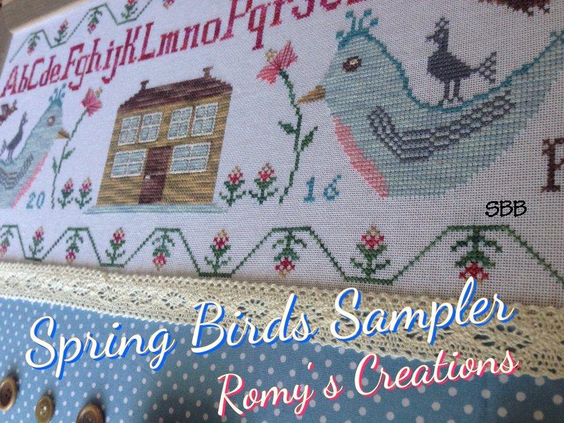 Romys Creations Designs Spring Bird Sampler