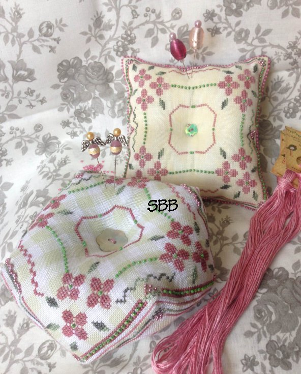 Romys Creations Designs Spring Days Pincushion