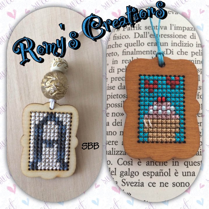Romys Creations Designs Stitch In Wood ~ Tag
