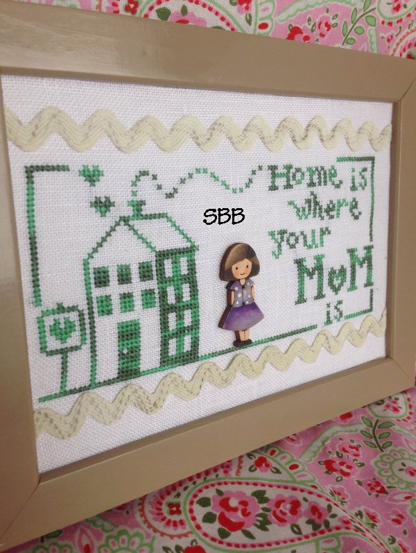 Romy's Creations Limited Edition Home Is Mom Floss & Button Pack