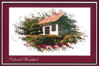 Ronnie Rowe Designs Colonial Series #4 Colonial Woodshed