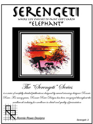 Ronnie Rowe Designs Serengeti Elephant