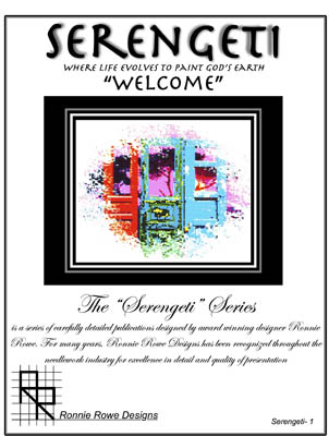 Ronnie Rowe Designs Serengeti Welcome