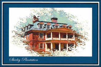 Ronnie Rowe Designs Colonial Series #3 Shirley Plantation
