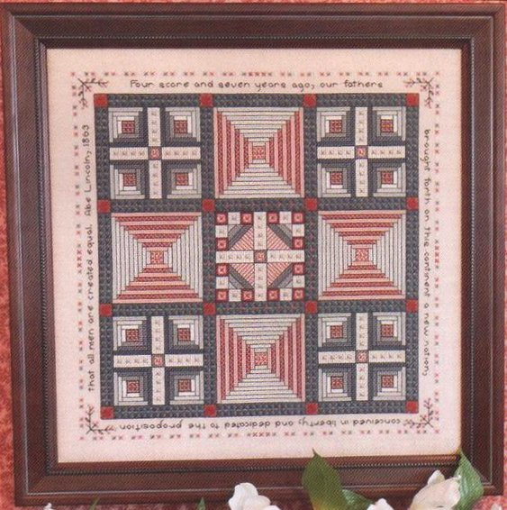 Rosewood Manor Designs Abe & Mary Lincoln's Quilt Sampler