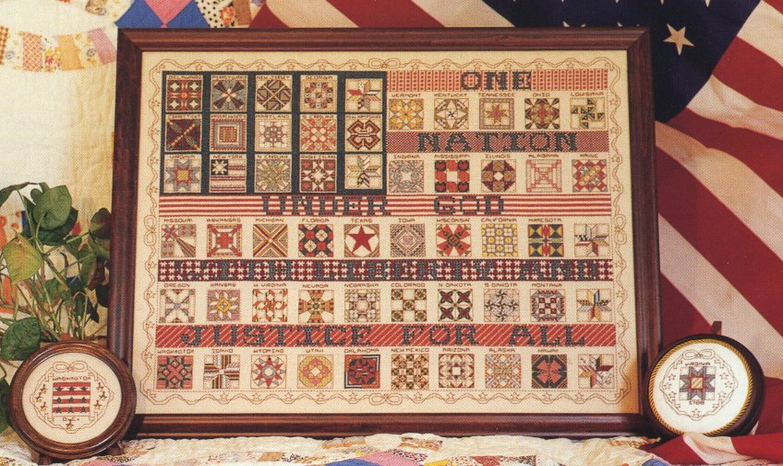 Rosewood Manor Designs American Flag Quilt Sampler