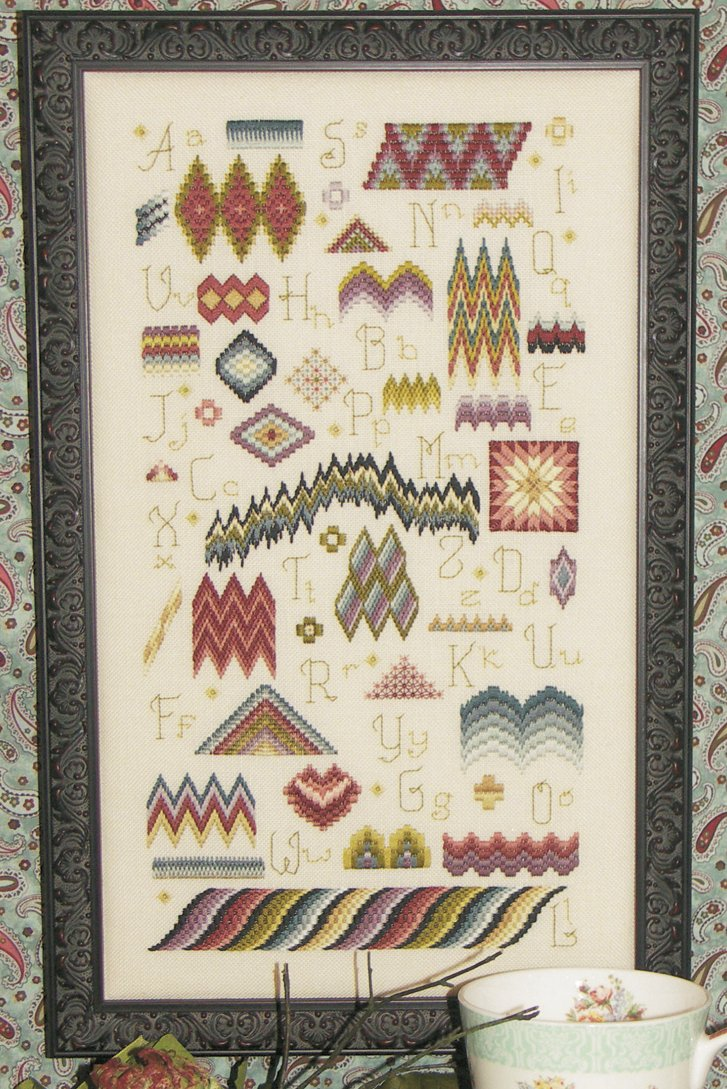 Rosewood Manor Designs Bargello Sampler