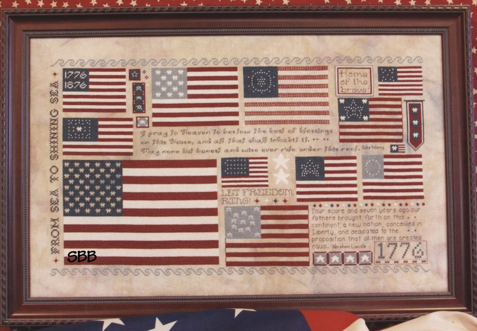 Rosewood Manor Designs Old Glory