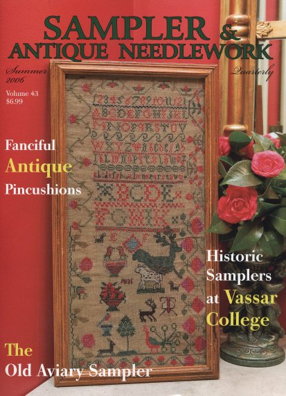 Sampler and Antique Needlework Quarterly Volume 43