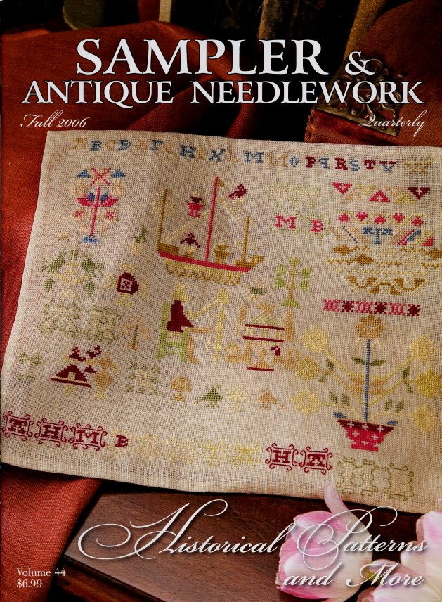 Sampler and Antique Needlework Quarterly Volume 44