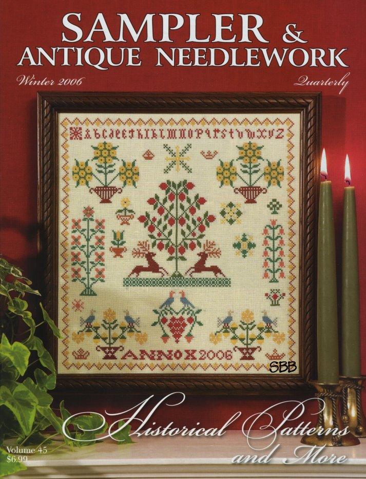 Sampler and Antique Needlework Quarterly Volume 45