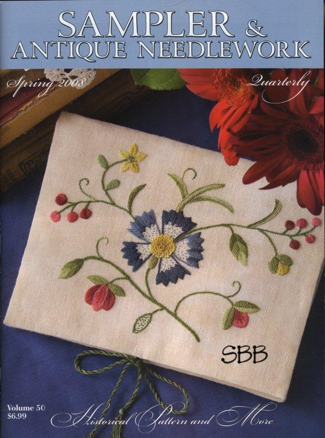 Sampler and Antique Needlework Quarterly Volume 50