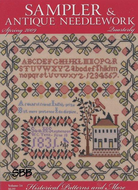Sampler and Antique Needlework Quarterly Volume 54