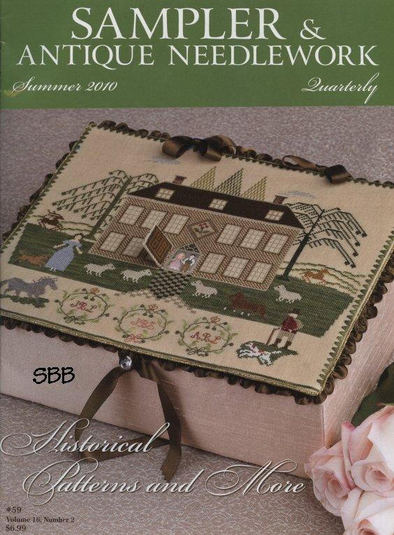 Sampler and Antique Needlework Quarterly Volume 59