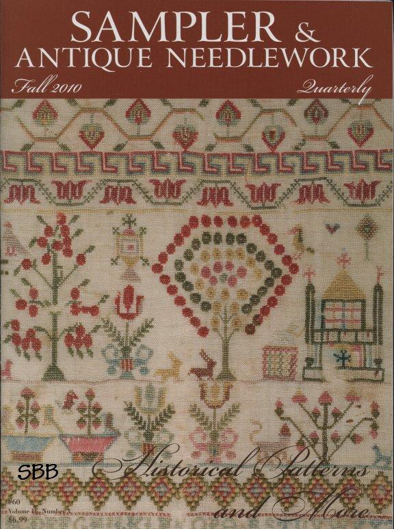 Sampler and Antique Needlework Quarterly Volume 60