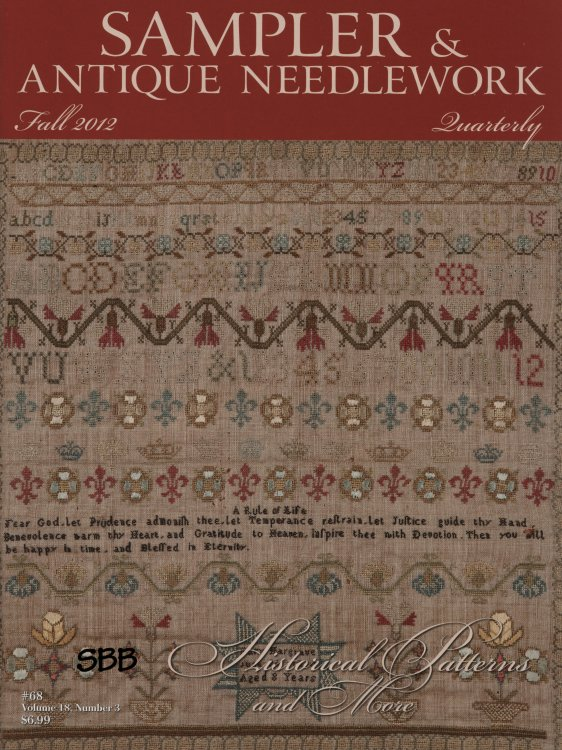 Sampler and Antique Needlework Quarterly Volume 68