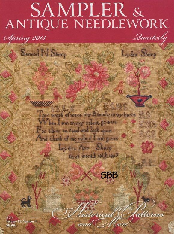 Sampler and Antique Needlework Quarterly Volume 70