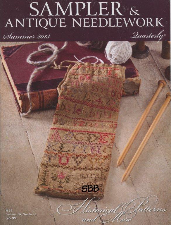 Sampler and Antique Needlework Quarterly Volume 71