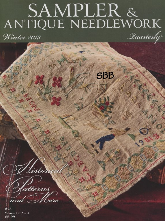 Sampler and Antique Needlework Quarterly Volume 73