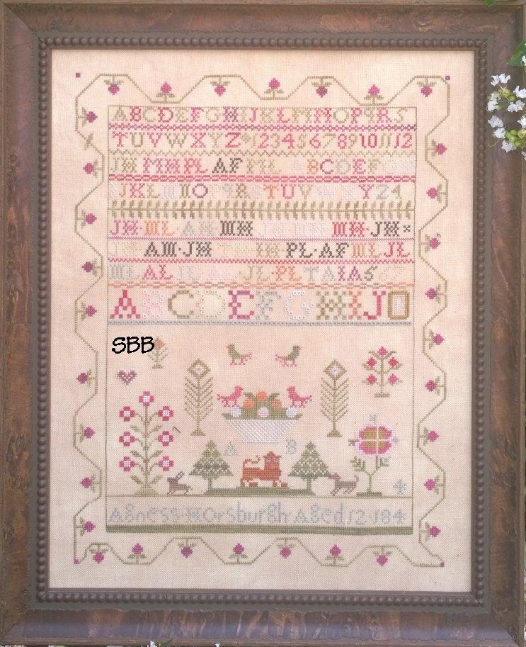 Samplers Not Forgotten Agness Horsburgh