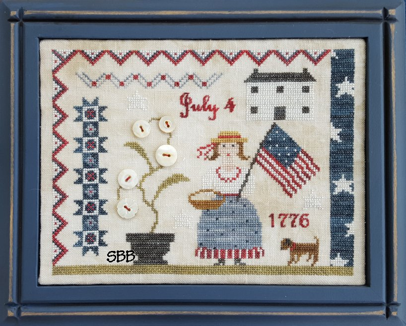 Samplers Not Forgotten  Fourth Of July Picnic