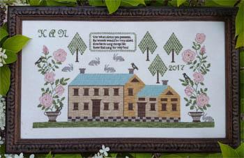 Samplers Not Forgotten  Rose Manor