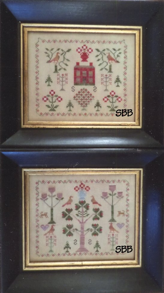Samplers Remembered Closeout  Pretty Pair