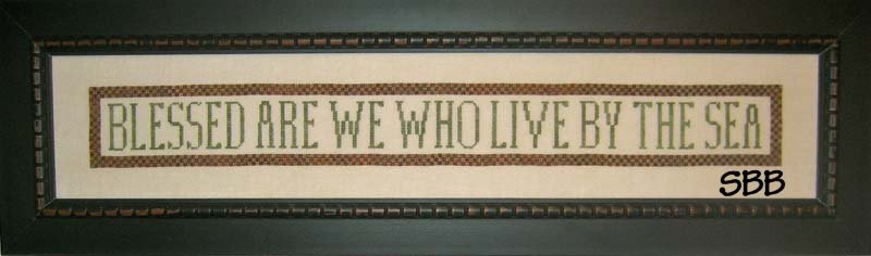 Samplers Revisited Blessed Are We Who Live By The Sea
