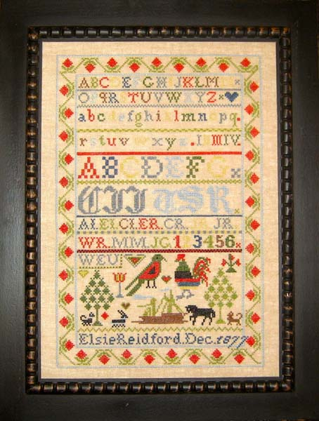 Samplers Revisited Elsie Reidford 1877