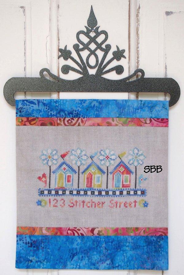 SamSarah Design Studio  123 Stitcher Street With Embellishments