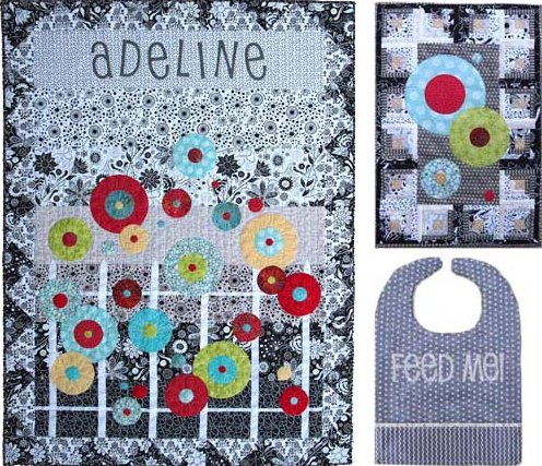 SamSarah Design Studio Adeline's Flower Patch ~ Quilting