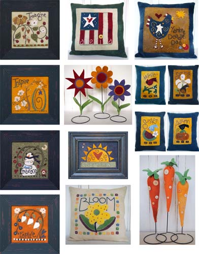 SamSarah Design Studio All Wool & A Yard Wide ~ Wool Applique