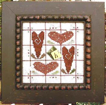 SamSarah Design Studio Alphabet Baubles ~ H Is For Heart