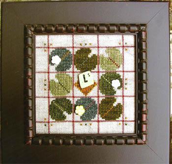 SamSarah Design Studio Alphabet Baubles ~ L Is For Lily Pad