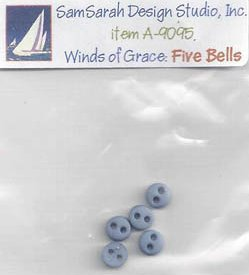 SamSarah Design Studio Winds Of Grace ~ Five Bells Part 5 of 6 Embellishment Pack