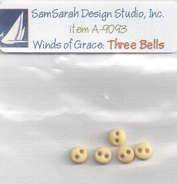 SamSarah Design Studio Winds Of Grace ~ Three Bells Part 3 of 6 Embellishment Pack