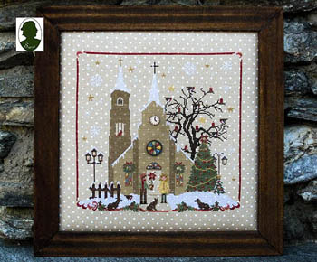 Sara Christmas Avenue - Church (includes buttons)