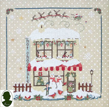 Sara Christmas Avenue - Hot Chocolate (includes buttons)