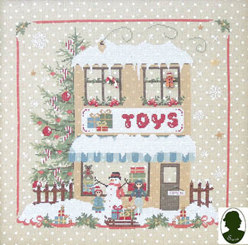 Sara Christmas Avenue - Toy Shop (includes buttons)