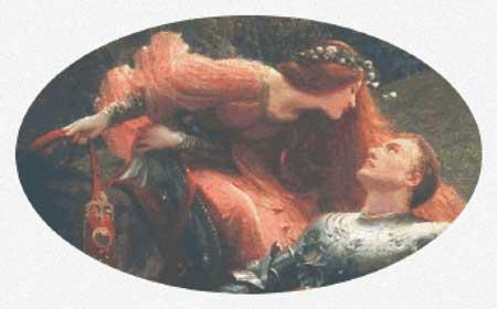 Scarlet QuinceLarge Print