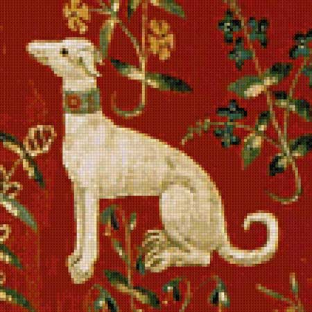 Scarlet Quince 110 x 110 Stitches