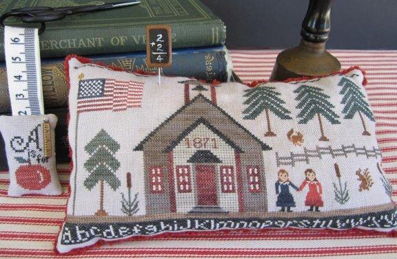 The Scarlett House 1871 School House Sampler