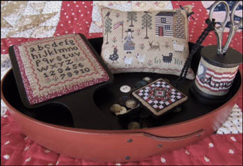 The Scarlett House  American Homestead Sewing Set